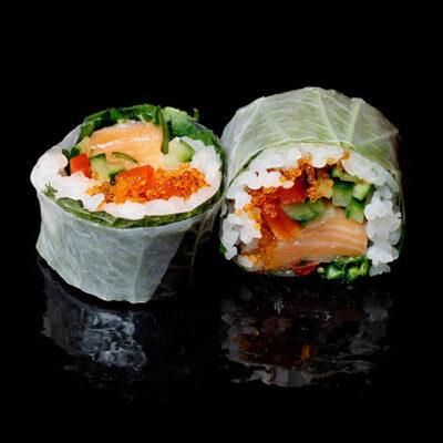 Reispapier Salmon