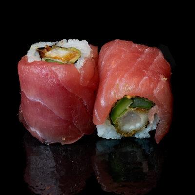 Ebi Spargel Avocado-Thunfisch